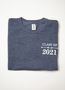 Class of 2021 T-shirt — COURAGE LARGE